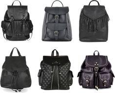 Wednesday Wishlist | The Black Backpack