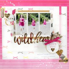 Wild hearts - Pink Paislee - Take Me Away Collection