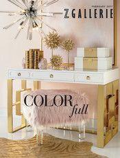 Z Gallerie - Color Full - Benito Velvet Bedding - Dual King Duvet Cover