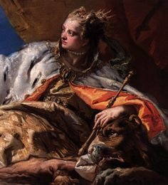 Tiepolo | Neptune Offering Gifts to Venice (detail)