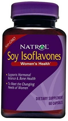 Natrol Soy Isoflavones for Women, 60 Capsules (Pack of 4) by Natrol. $19.68. Dietary Supplement. Non-GMO. Supports hormonal balance & bone health. To meet the changing needs of women. Soy is a natural source of isoflavones that provide benefits such as hormonal balance support and bone health. The amount of soy isoflavones necessa
