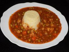 magiczna kuchnia Kasi: Wegetariański gulasz z soczewicą