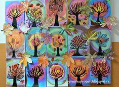 We create with children ☺: autumn Autumn Art, Autumn Theme, Fall Art Projects, Projects To Try, Arts Ed, Art School, School Ideas, Elementary Art, Art Education