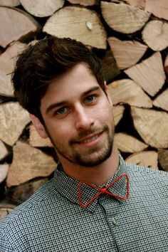 Red Wire Bow-Tie. $20.00, via Etsy.