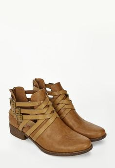 Jac Shoes in Cognac - Get great deals at JustFab