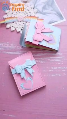 Cool Paper Crafts, Paper Crafts Origami, Diy Crafts For Gifts, Diy Home Crafts, Diy Arts And Crafts, Creative Crafts, Diy Paper, Fun Crafts, Oragami