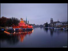 Floating circus by Kader Lagraa, via Flickr