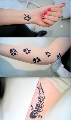 Tatuaż z henny. #henna #tatuaż #tattoo