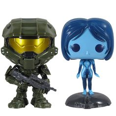 Halo 4 themed Pop figures