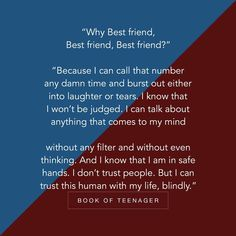 I want such a best friend became sometimes I feel I am damn alone but if my best friend is really my best friend than should not feel so.it's damn hard to figure out. Bff Quotes Funny, Friend Love Quotes, Best Friend Poems, Besties Quotes, Friends In Love, Bffs, To My Best Friend, Best Friend Birthday Quotes, Quotes For Best Friends