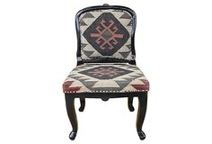 Tristan Kilim Upholstered Chair on OneKingsLane.com