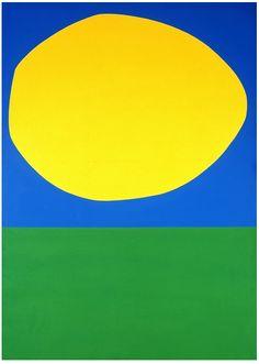 Ellsworth Kelly - High Yellow, 1960, oil on canvas, 204.6 × 146.8 cm