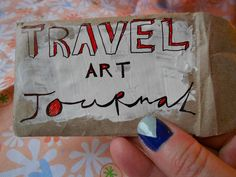 Koi Pond (DIY(ish) Travel Art Journal p.2)
