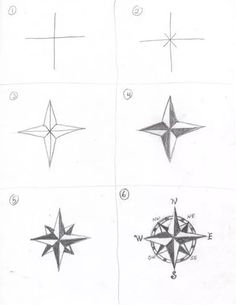 Compass Drawing How to Things to Draw Doodles Bujo Ideas Pencil Drawing si Zeichnungen bleistift einfach Easy Doodle Art, Easy Doodles, Easy Art, Doodle Ideas, How To Draw Doodle, Easy To Draw, Compass Drawing, Compass Art, Drawing Base