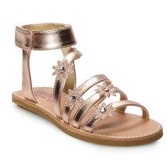 99c513cf Rachel Shoes Nicolina Girls' Gladiator Sandals, Size: 13, Yellow Sandalias  De Gladiador