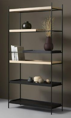 Shelving Design, Storage Design, Shelf Design, Loft Furniture, Steel Furniture, Furniture Design, Industrial Design Furniture, Espace Design, Design Loft