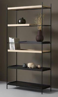 Loft Furniture, Built In Furniture, Steel Furniture, Furniture Design, Industrial Design Furniture, Shelving Design, Shelf Design, Storage Design, Loft Design