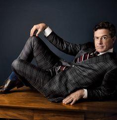 Stephen Colbert in Vanity Fair