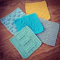 We now have Sand Surf Sea Seaweed and Seagull ...I wonder what will be next?  #scheepjescal2016 #lastdanceonthebeach #crochet #crochetaddict #crochetaddiction #yarnaddict #yarnaddiction #crochetblankets #craftastherapy #crochetblanket