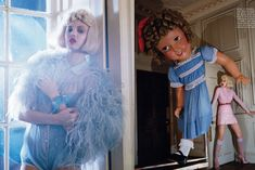 like a doll: lindsey wixson by tim walker for vogue italia january 2012