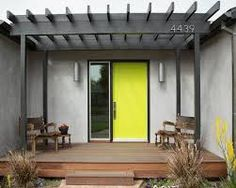 Image result for timber deck front door PERGOLA