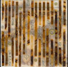 #papercrafting #mixedmedia #collage  Pam Nichols Encaustic with mixedmedia