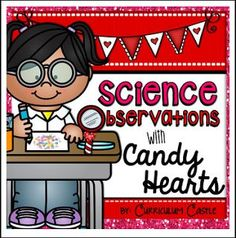 "FREE SCIENCE LESSON - ""Valentine's Day Science: Candy Heart Experiment {FREE}!"" - Go to The Best of Teacher Entrepreneurs for this and hundreds of free lessons. Kindergarten - 1st Grade   http://www.thebestofteacherentrepreneurs.org/2017/01/free-science-lesson-valentines-day.html"