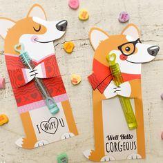 Corgi love #corgi #welshcorgi #corgivalentine #corgiprintable #printablevalentines #etsyvalentine #dogvalentine #dogpeople kudzumonster.etsy.com