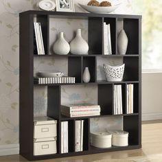 Baxton Studio Declan Dark Brown/ Espresso Modern Storage Shelf - Overstock™ Shopping - Great Deals on Baxton Studio Media/Bookshelves