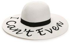 Mix No. 6 Sassy Word Floppy Hat #hat #womens