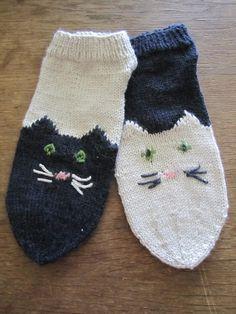 knitted Cat-socks