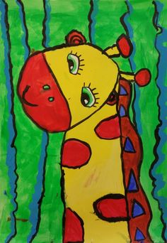 Abby the Giraffe Giraffe, Artists, Artwork, Painting, Giraffes, Work Of Art, Auguste Rodin Artwork, Painting Art, Paintings