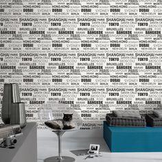 papel_parede_Letters_BTW_6109_00_95 Temos um novo catálogo do fabricante Caselio, apresentando sua colecção Black and White. Uma grande variedade de estilos de papeis de parede bastante curiosos, e com uma tendência decorativa em banco preto tornam a estar de moda. Veja mais informação em http://papeldeparedeonline.com/2013/02/01/papel-de-parede-black-and-white/