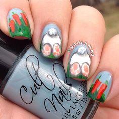 polishmad easter #nail #nails #nailart