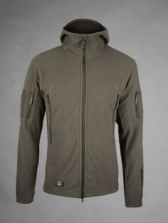 Made From 8.50 Ounce Polartec® Wind Pro Fabric with Durable Water Repellent (DWR) Treatment. Shown in Combat $219.00 3xl