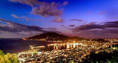 Zakynthos town in the night. Zakynthos Greece!!!