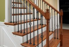 Create an impressive stairway that complements your design and décor with a custom solution from L.J. Smith.