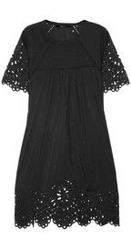 ISABEL MARANT  Dune broderie anglaise cotton-blend dress