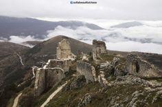 Rocca Calascio in Calascio, Abruzzo www.facebook.com/sofiabeautifulchaos