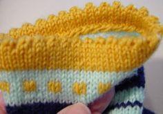 Neuleen reunojen viimeistelytapoja | Punomo Knitted Hats, Beanie, Knitting, Fashion, Moda, Tricot, Fashion Styles, Breien, Stricken