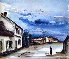 Landscape, by Maurice de Vlaminck (French, 1876–1958).
