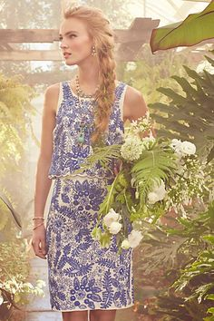 Embroidered Bluet Separates from Anthropologie- OBSESSED!