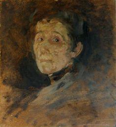 Olga Boznanska Self-Portrait ca 1930 priv coll