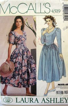 Laura Ashley Pattern from the late 1980s