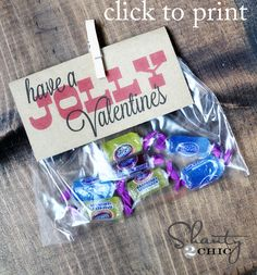 "jolly rancher valentine -- ""Have a jolly Valentine's"" (with free printable)"