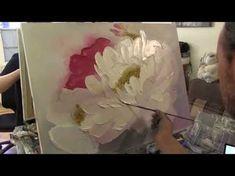 Мастихин Техника Уроки живописи и рисования. Как рисовать акрилом Рисуем с помощью Мастихина. - YouTube