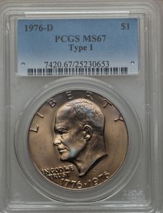 1976-S Silver Eisenhower Dollar PCGS PR69DCAM TOP SOURCE FOR IKES