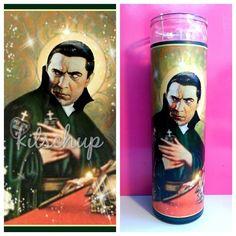 Dracula Bela Lugosi Prayer Candle