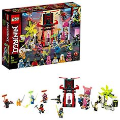 Buy LEGO Ninjago Gamers Market Playset - 71708 at Argos. Thousands of products for same day delivery or fast store collection. Ninjago Games, Lego Ninjago Ninja, Legos, Arcade, Avatar, Figurine Lego, Construction Lego, Dragons, Lego Ninjago