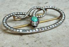 snake buckle - Victorian